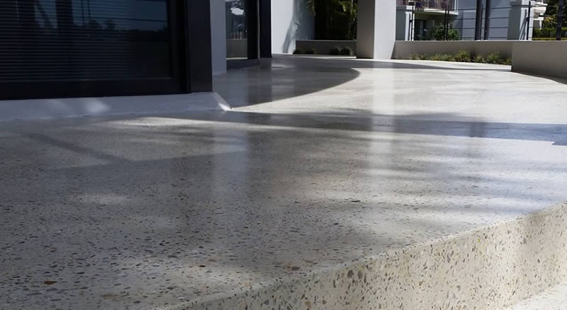 honed concrete queensland polished concrete